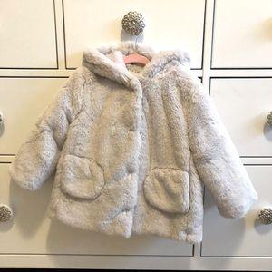 Zara Fur Coat 18-24M